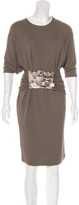 Michael Kors Knee-Length Short Sleeve Dress