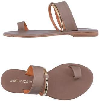 MISS UNIQUE Toe strap sandals - Item 11289903UK