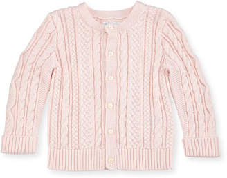 Ralph Lauren Cotton Cable-Knit Cardigan, 6-24 Months