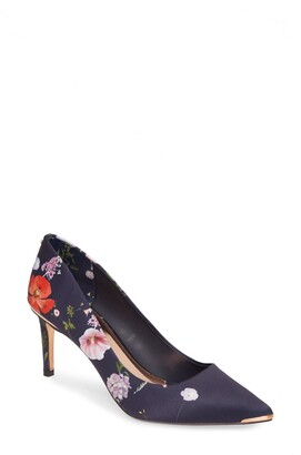 Ted Baker Wishirp Floral Pointed Toe Pump