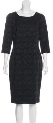 Dolce & Gabbana Jacquard Midi Dress