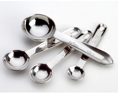 All-Clad Stainless-Steel Measuring Spoon Set
