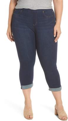 Liverpool Sienna Pull-On Denim Capri Pants