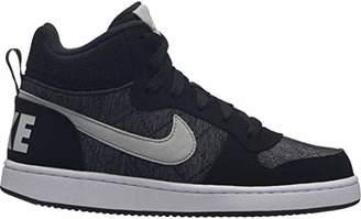 Nike Boys Court Borough Mid Se (gs) Basketball Shoes, (Black/Pure Platinum/Cool Grey/007), 4.5UK Child