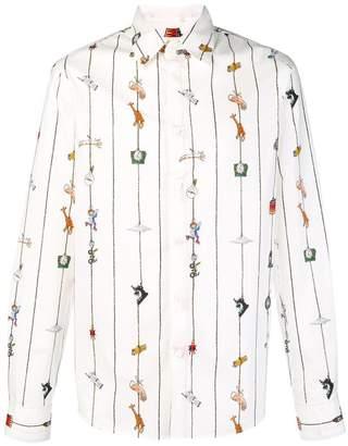Marni front printed shirt