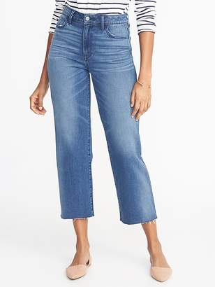 Old Navy High-Rise Wide-Leg Cropped Jeans for Women