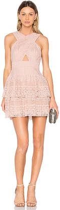 BCBGMAXAZRIA Alissa Dress in Blush $368 thestylecure.com