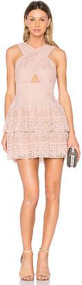 BCBGMAXAZRIA Alissa Dress in Blush. - size 10 (also in )