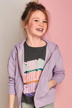 Next Girls Multi Slogan Short Sleeve T-Shirts Five Pack (3-16yrs)