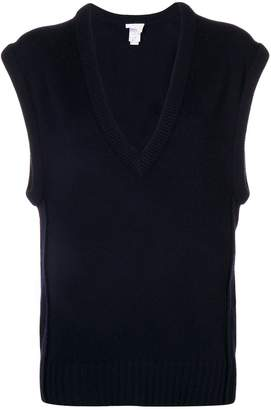 Chloé V-neck loose knitted top