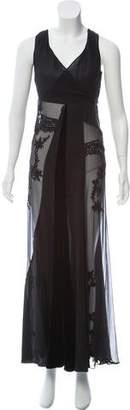 Alberta Ferretti Silk Evening Gown