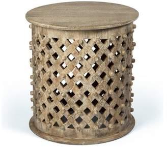 1st Avenue Garland Mango Wood Side Table