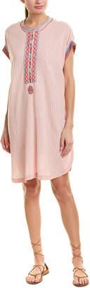 Johnny Was Linen-Blend Tunic Dress