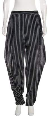 Humanoid Striped High-Rise Pants