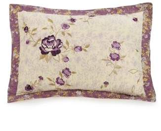 Better Homes & Gardens Better Homes and Gardens Purple Blossoms Standard Sham Pair