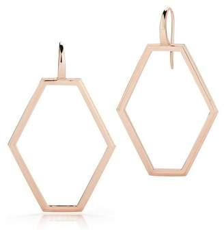 Walters Faith Keynes Open Hexagon Earrings
