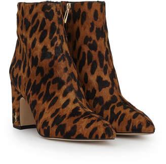 7bb65cf2438 Sam Edelman Leopard Boots  - ShopStyle