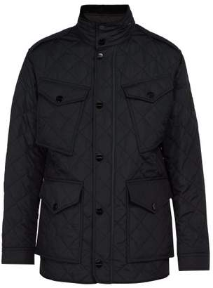 Burberry - Ascot Quilted Field Jacket - Mens - Navy
