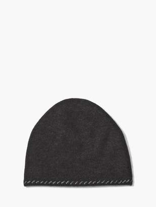 John Varvatos Knit Hat With Contrast Linking
