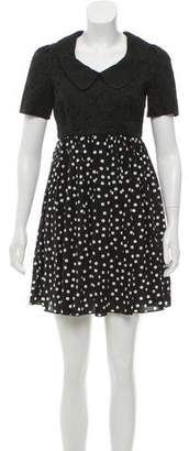 Dolce & Gabbana Polka Dot Mini Dress w/ Tags