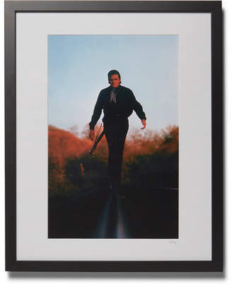 Sonic Editions Framed 1969 Johnny Cash Print, 16 X 20