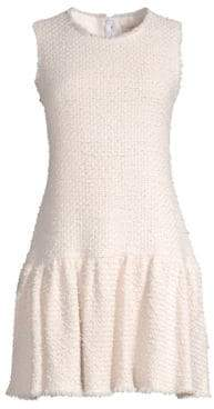 Rebecca Taylor Sleeveless Multi Tweed Dress