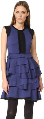 Amelia Toro Sleeveless Ruffle Dress