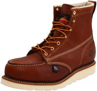 "Thorogood 804-4200 Men's American Heritage 6"" Moc Toe, MAXwear Wedge Safety Boot, - 10.5 D(M) US"