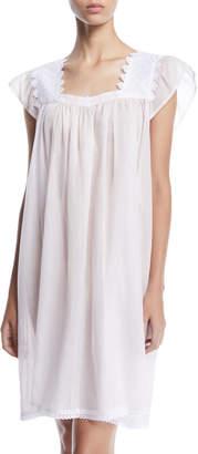Celestine Ninifee Cap-Sleeve Babydoll Nightgown