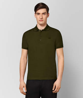 Bottega Veneta MUSTARD COTTON POLO