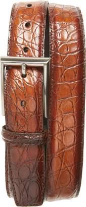 Magnanni Crocodile Leather Belt