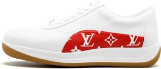 Louis Vuitton Sport Sneaker - 'Louis Vuitton X Supreme' - White/Red