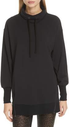 L'Agence Side Zip Sweatshirt