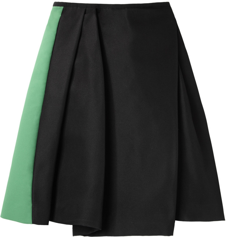 Acne Studios / Maurice Couture Colorblock Skirt