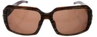 Montblanc Tinted Square Sunglasses