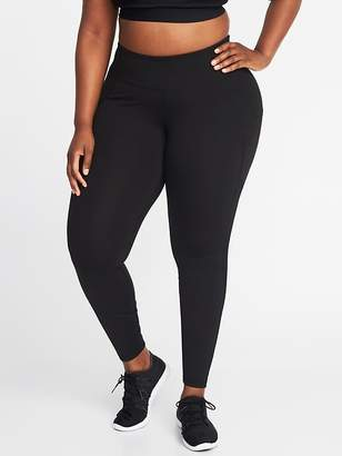 Old Navy High-Rise Elevate Compression Plus-Size Pocket Leggings