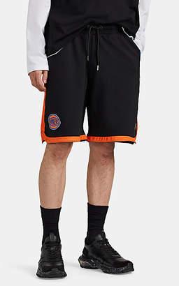 Marcelo Burlon County of Milan Men's New York KnicksTM Cotton French Terry Shorts - Black