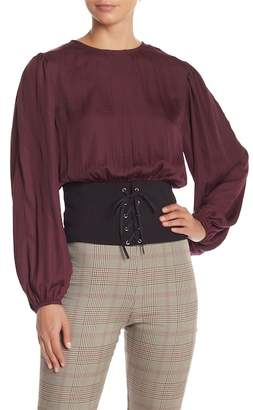 Do & Be Do + Be Corseted Blouse