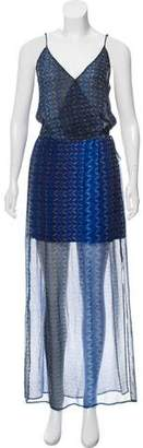 Rory Beca Silk Aztec Print Dress