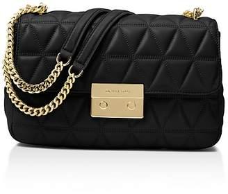 MICHAEL Michael Kors Chain Large Leather Shoulder Bag