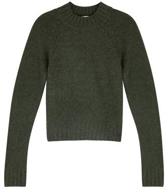 Vince Dark Green Cashmere Jumper