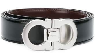 Salvatore Ferragamo double Gancini buckle belt