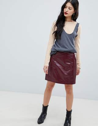 Vero Moda high shine skirt