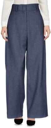 JUPE DE SATIN Casual pants - Item 13204639TB
