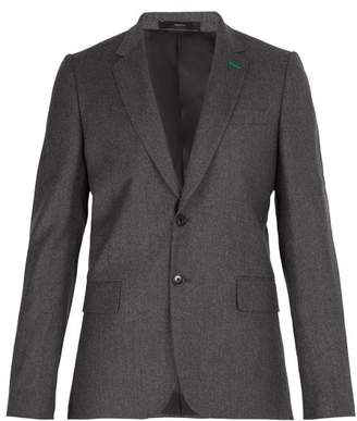 Paul Smith Soho Wool And Cashmere Blend Blazer - Mens - Grey