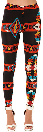 See You Monday The Ganado Ultra Leggings in Red