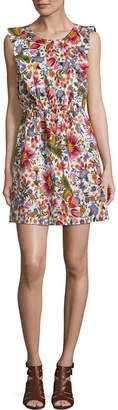 City Streets Mommy And Me Sleeveless Floral Shift Dress