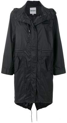 Kenzo hooded raincoat