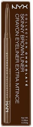 NYX Collection Chocolate - Skinny Brown Liner