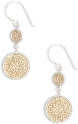 Anna Beck Beaded Double Drop Earrings